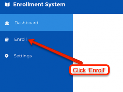 Click Enroll